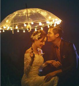 求婚職人 - 夜晚LED傘燈